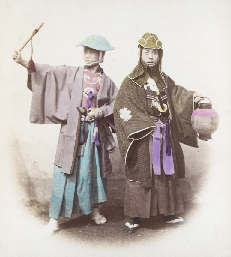 Japanese society adopted the samurai code of honour as their own.