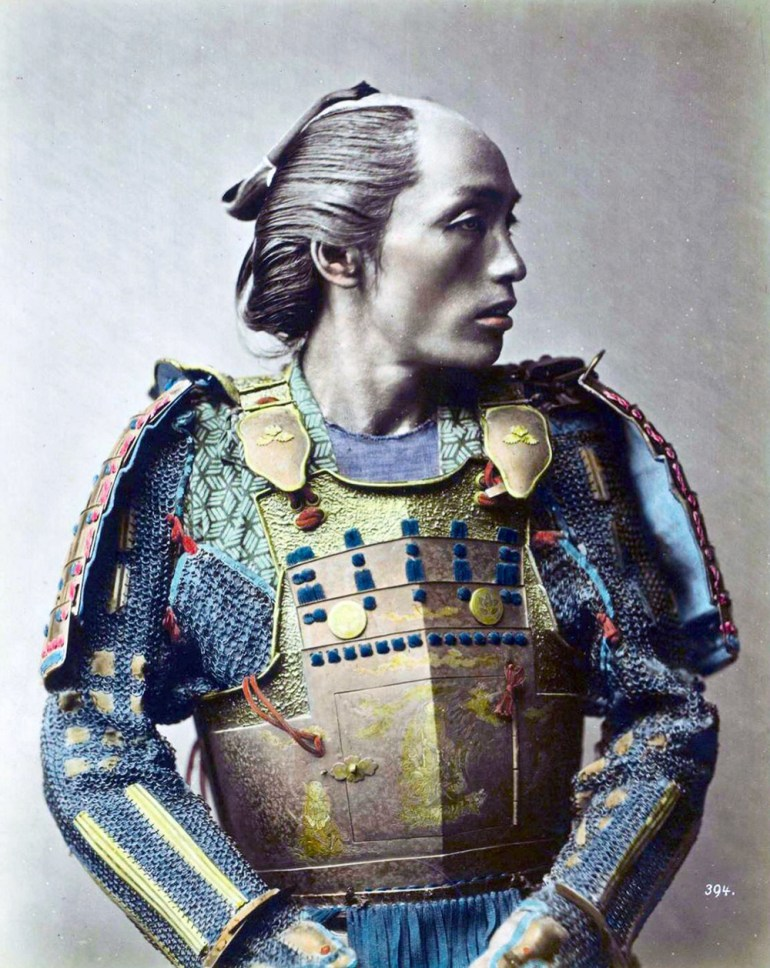 Samurais were admired for their intricate and elaborate apparel. Their uniforms heavily influenced Japanese fashion.