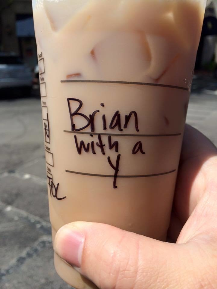 Oh, you Starbucks baristas!