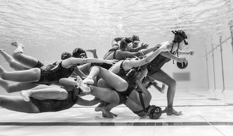 "CONTEST WINNER: ""Under 21 Underwater Rugby Colombian Team"" Medellin, Colombia"