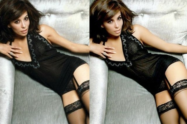 Eva Longoria is rockin' 2016 with her new TV series Telenovela. Here's an earlier look where she looks stunning in both the before and after photos.