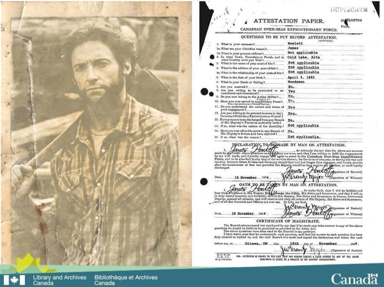 "The Library and Archives Canada acquired the declassified records of Canadian super soldier James ""Logan"" Howlett aka Wolverine."