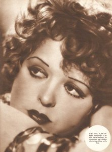 red lipstick clara bow