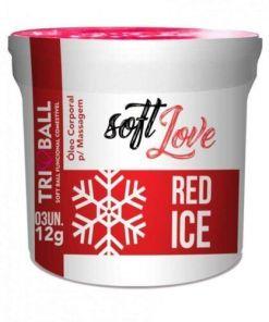 Soft ball triball Red Ice- Super Excitante c 3 unidades - Soft Love