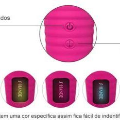 Varinha Mágica Recarregável 28 combinações de Vibração S-Hand Luna