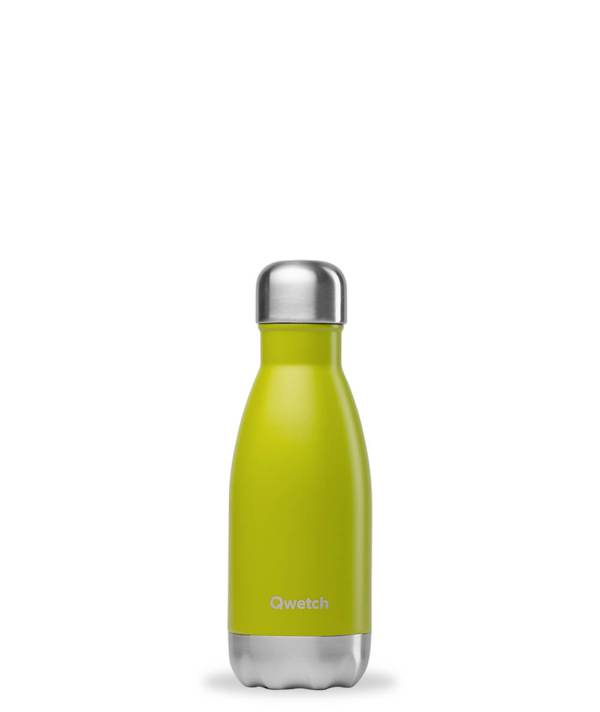 Bouteille isotherme Qwetch 260ml vert anis