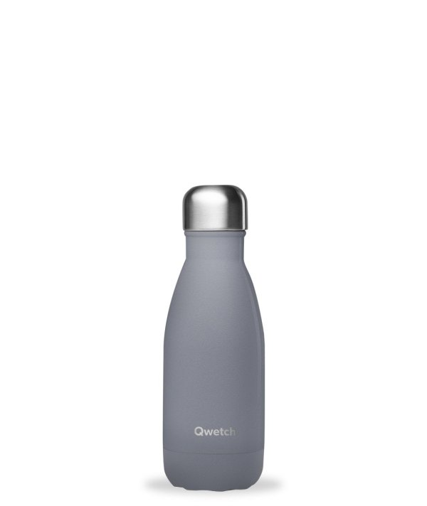 Bouteille isotherme Qwetch Gris Granite 260 ml