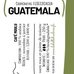 café bio vrac guatemala