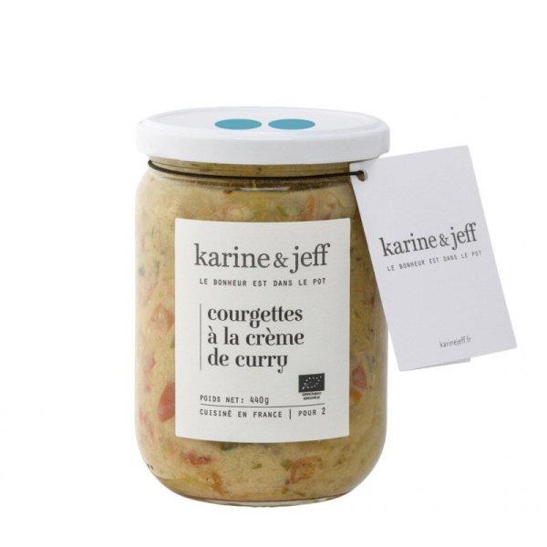 courgettes-a-la-creme-de-curry-bio et artisanal