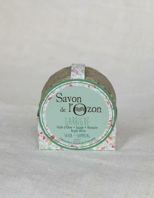 savon-solide-rond-garrigue-emballe