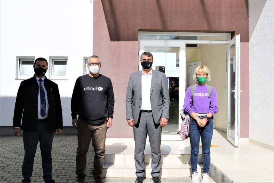 Sot për vizitë në komunën e Dragashit ishte Murat Shahin, Shef i Zyrës së UNICEF-it në Kosovë