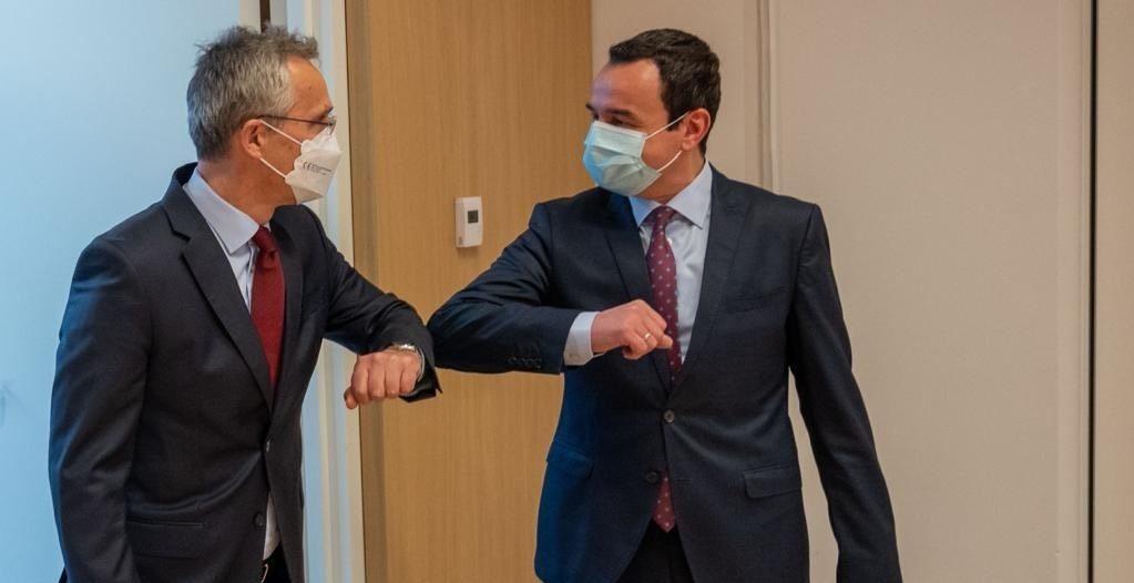 Kurti pas takimit me Stoltenberg: Anëtarësimi i Kosovës në NATO e bën rajonin dhe Evropën shumë më të sigurt