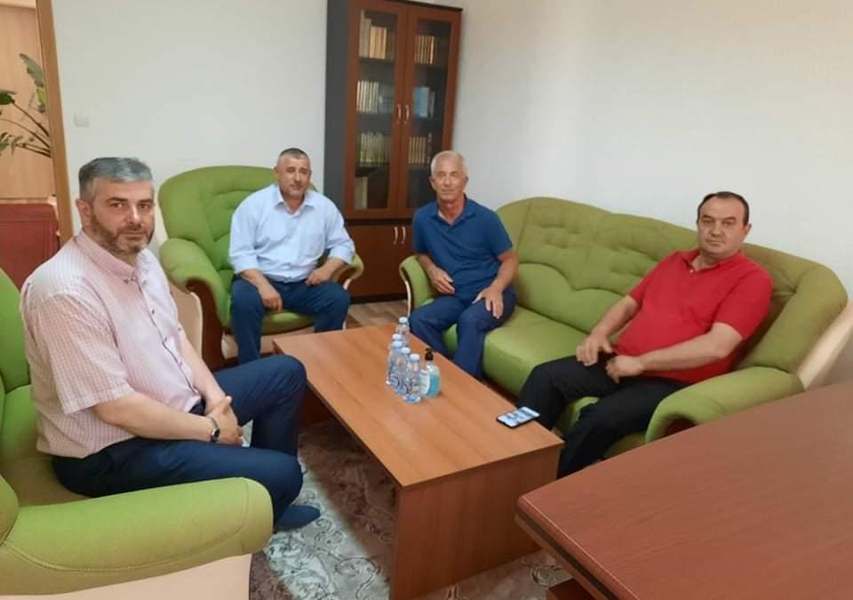 Kryetari i degës së LDK-së në Dragash z.Qamil Kolloni ishte për vizitë në KBI