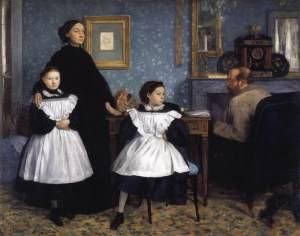 The Bellelli Family, Edgar Degas 1860-62