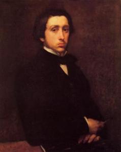 Edgar Degas - autoportret
