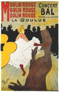 Lautrec Moulin Rouge,_La Goulue - Plakat - 1891