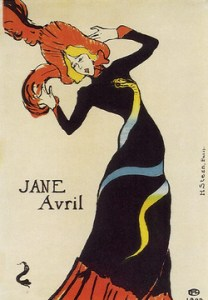 Jane Avril - Toulouse-Lautrec - 1899