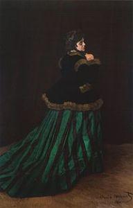 Camille, zielona suknia