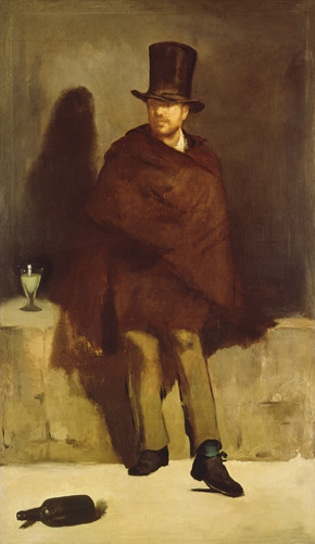 """Pijący absynt"" 1859 – Edouard Manet"