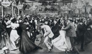 Zabawa w Moulin de la Galette