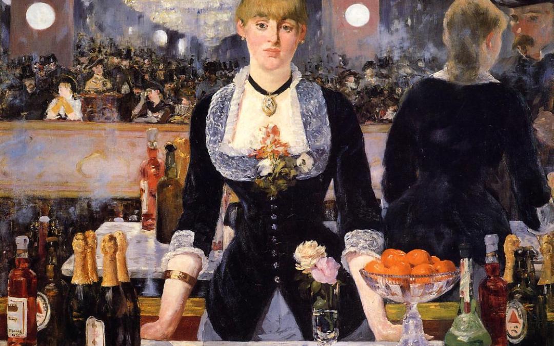 """""""Bar w Folies-Bergeres"""" 1881-1882 – Edouard Manet"""