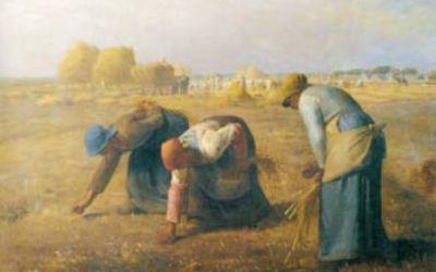 """""""Kobiety zbierające kłosy"""" 1857 – Jean Francois Millet"""