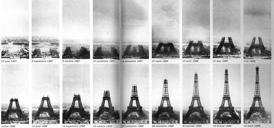 Etapy budowy wieży
