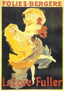 Przez 10 lat główna atrakcja spektakli była amerykańska tancerka Loile Fuller.