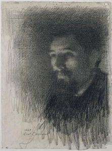 Ernest Laurent, Portret Georgesa Seurata, ok. 1880