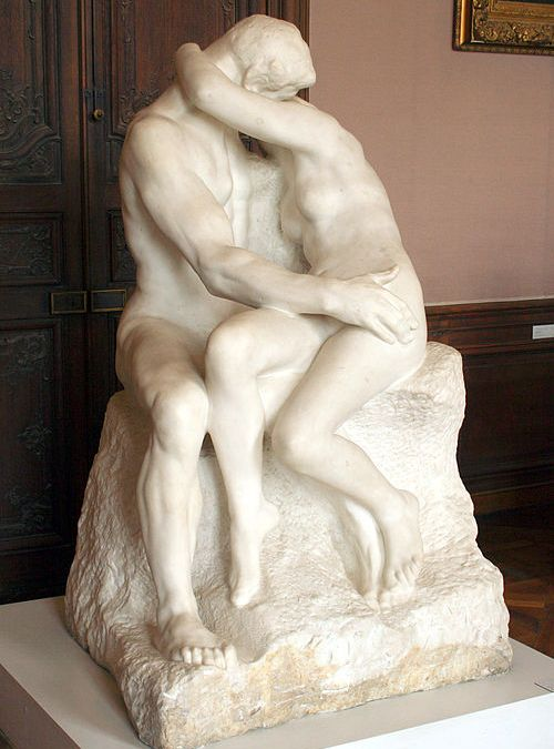 """Pocałunek"" Auguste Rodin"