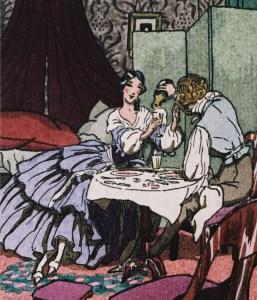 Ilustracja Pierre Brissaud do jednego z wydań Pani Boavry