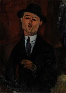 Amadeo Modigliani - Paul Guillaume - 1915
