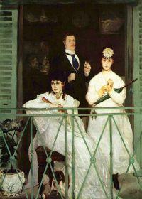 """Balkon"" 1868 – 1869 – Edouard Manet"