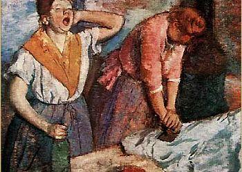 """""""Prasujące kobiety"""" 1884 – 1886 Edgar Degas"""