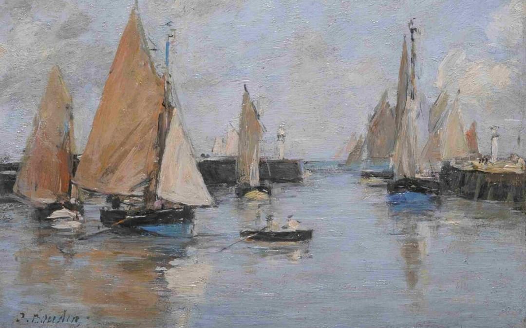 Monet, Renoir, Delacroix i inni. Normandia namalowana