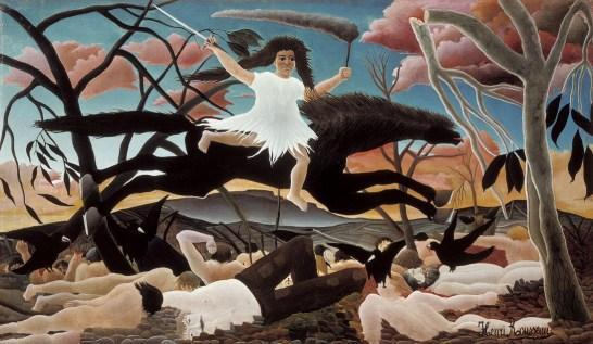 """Wojna"" 1894 - Neri Rousseau"