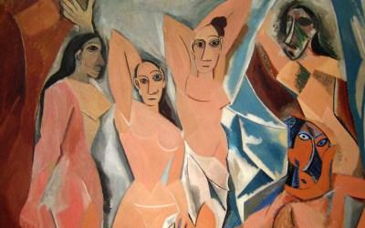 """""""Panny z Avinionu"""" 1907 – Pablo Picasso"""