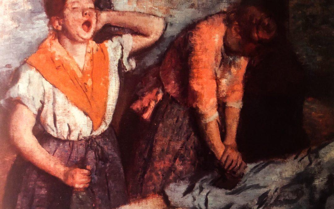 Prasowaczki Degas'a