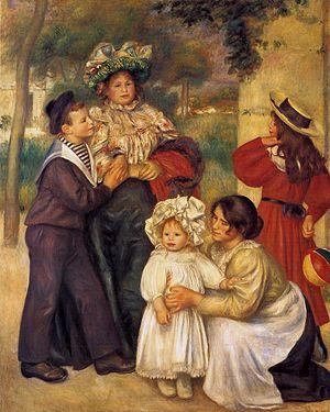 """Rodzina"" Auguste Renoir1886"
