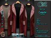 "Mesh coat ""Daviken"" in Red"