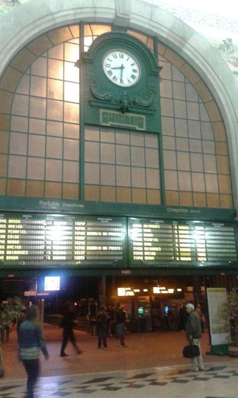 Průčelí nádraží Sao Bento