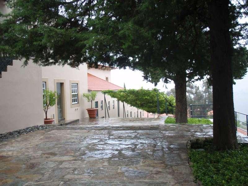 Quinta do Seixo - vchod na recepci