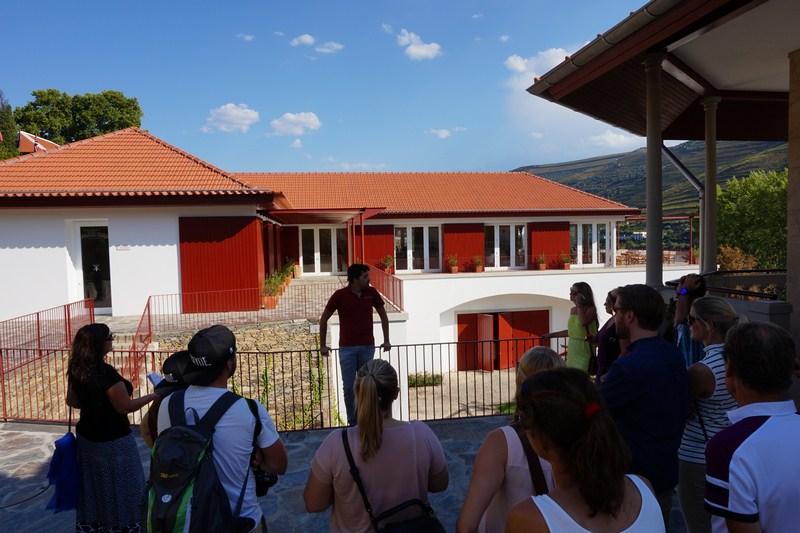Úvod prohlídky v Quinta do Bomfim