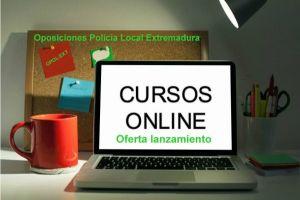 cursos online policia local extremadura