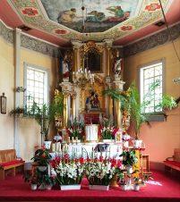 Ołtarz wkościele św.Jakuba wLeźnicy