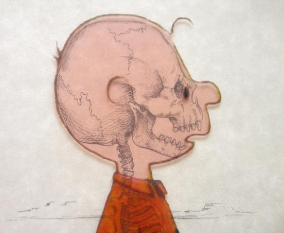 charlie brown overlay version by michael paulus detail