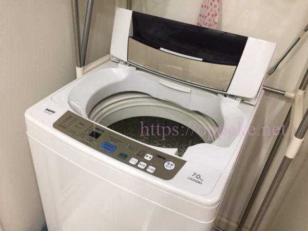 セームタオル,洗濯機