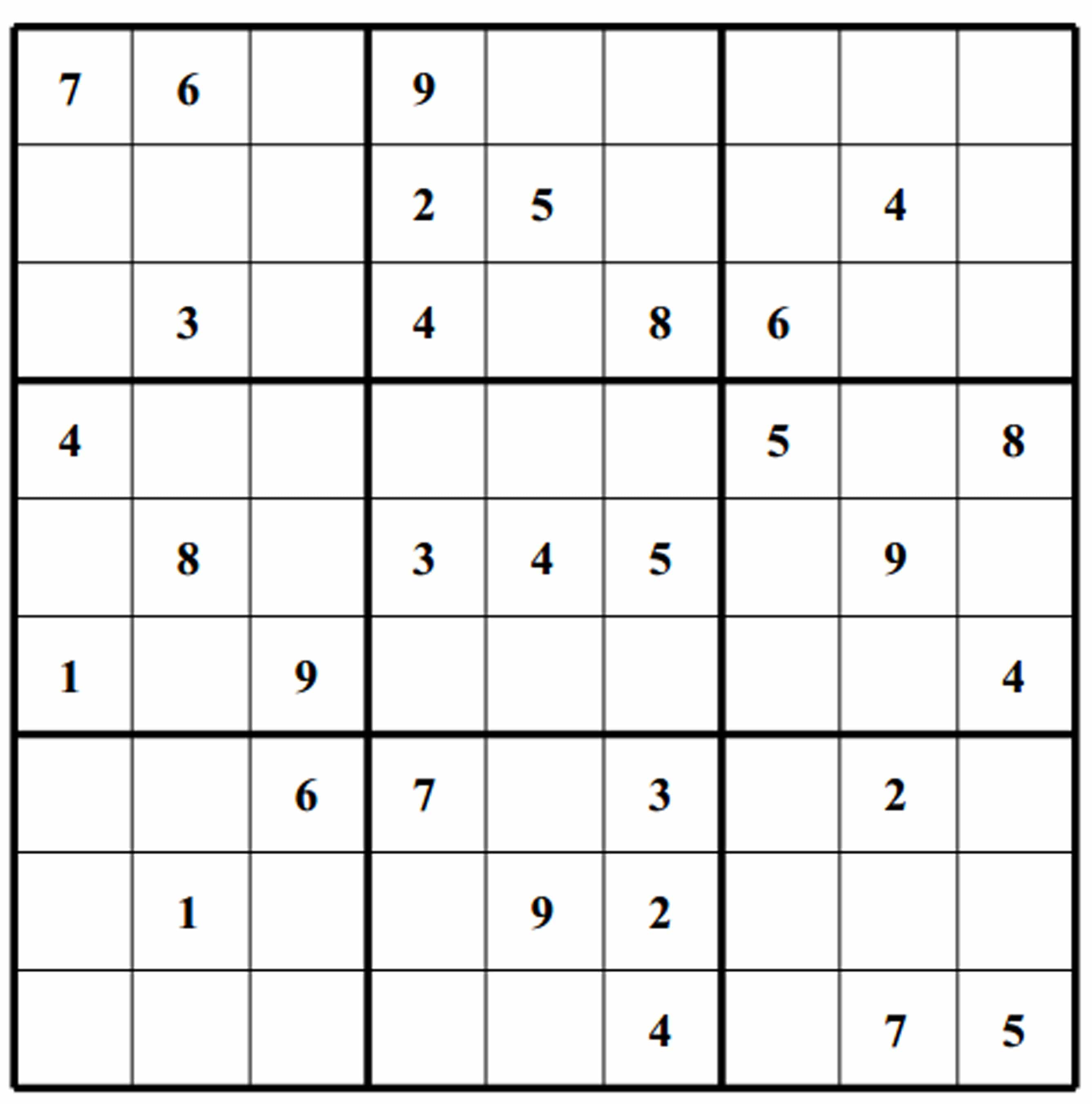 Save Easy Sudoku Puzzles Oppidan Library