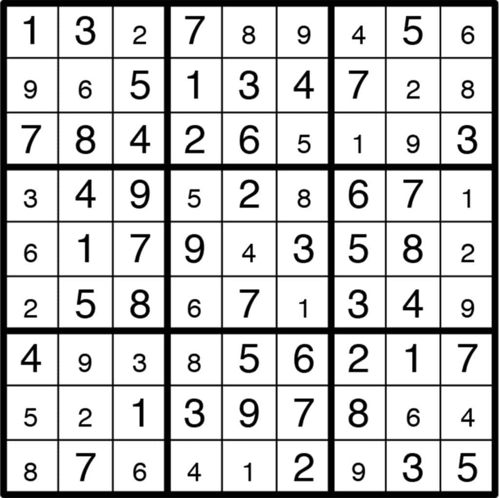 Solving Linear Equations Sudoku Worksheet Answer Key