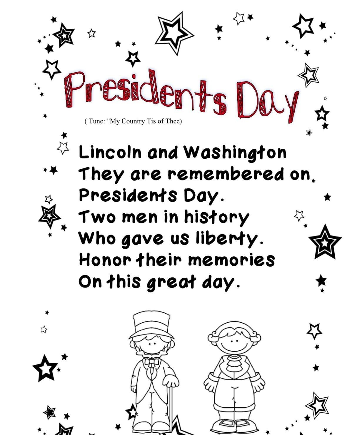 George Presidents Worksheet For Kindergarten
